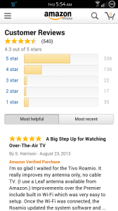 Amazon Android App Customer Review