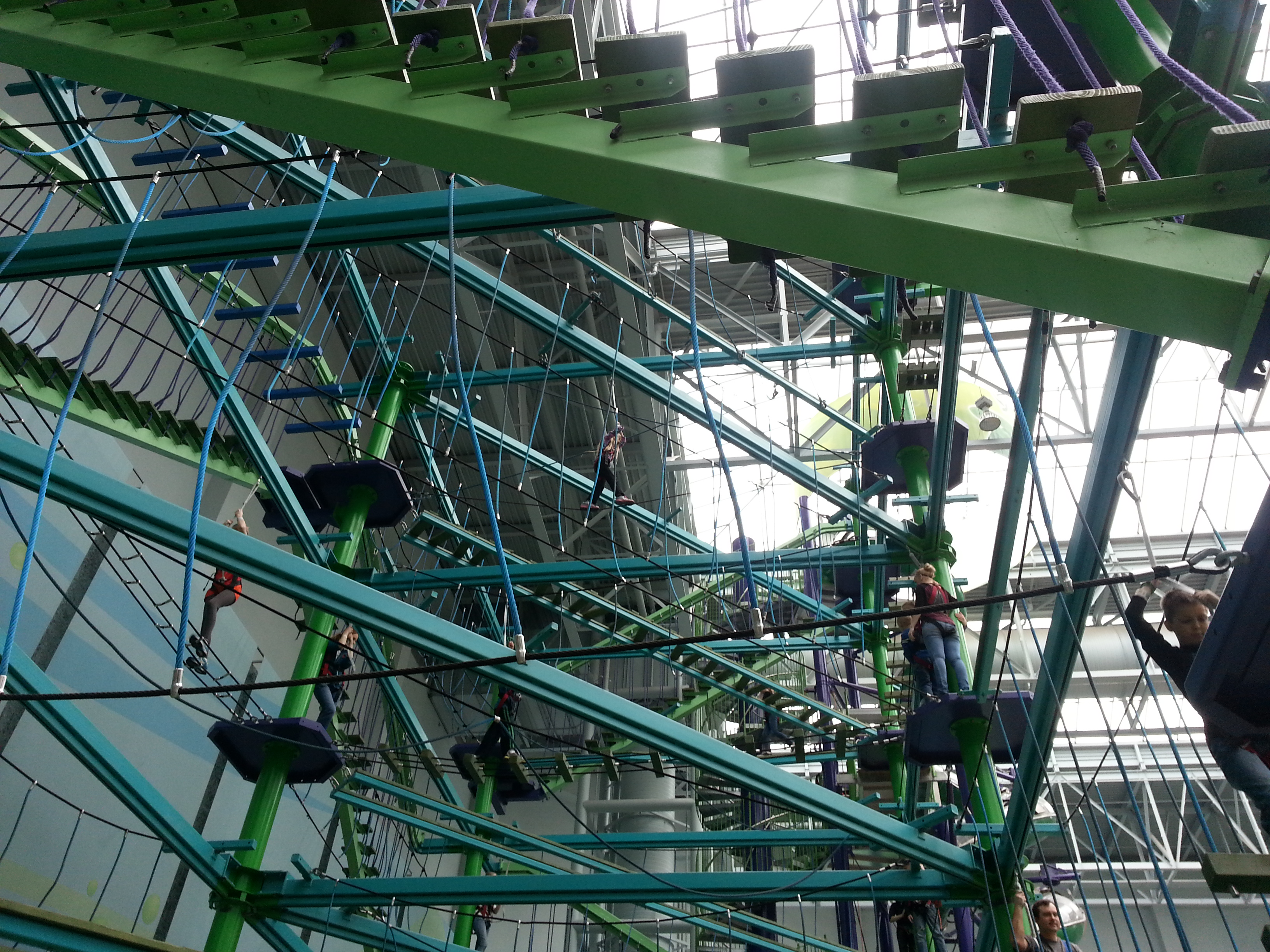 Mall Of America Ropes Course
