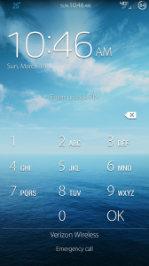 Android Pin Lock