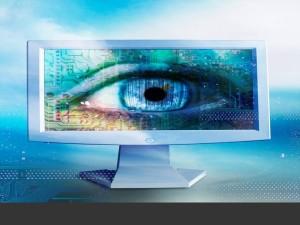 computer monitor eye