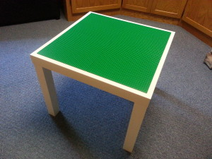 Homemade Lego Table