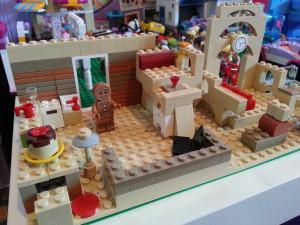 Lego Gingerbread Mini Figure House