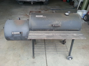 Meat Smoker - Before