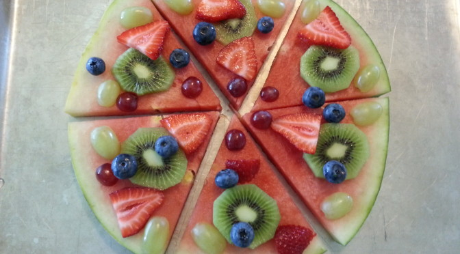 "Fresh Fruit ""Pizza"""