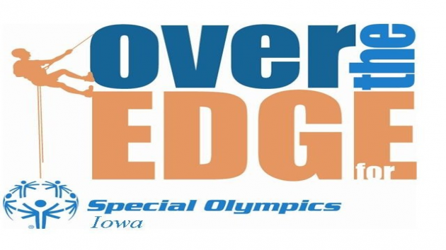 "Going ""Over The Edge"" For Special Olympics Iowa"
