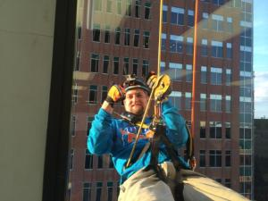 Rappelling Pic