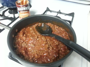 Unsloppy Joe - Filling
