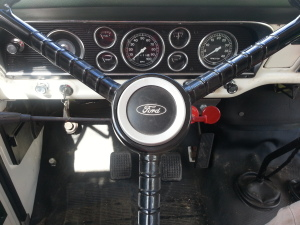Ford Grain Truck Dash Board