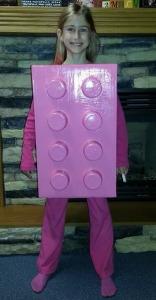 Lego Brick Halloween Costume