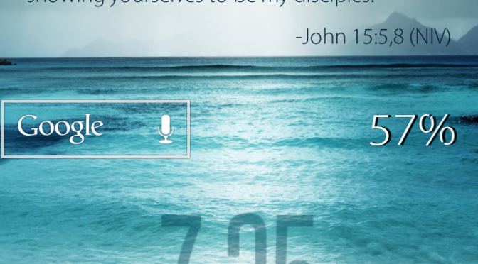 Daily Bible Verse On Your Smartphone