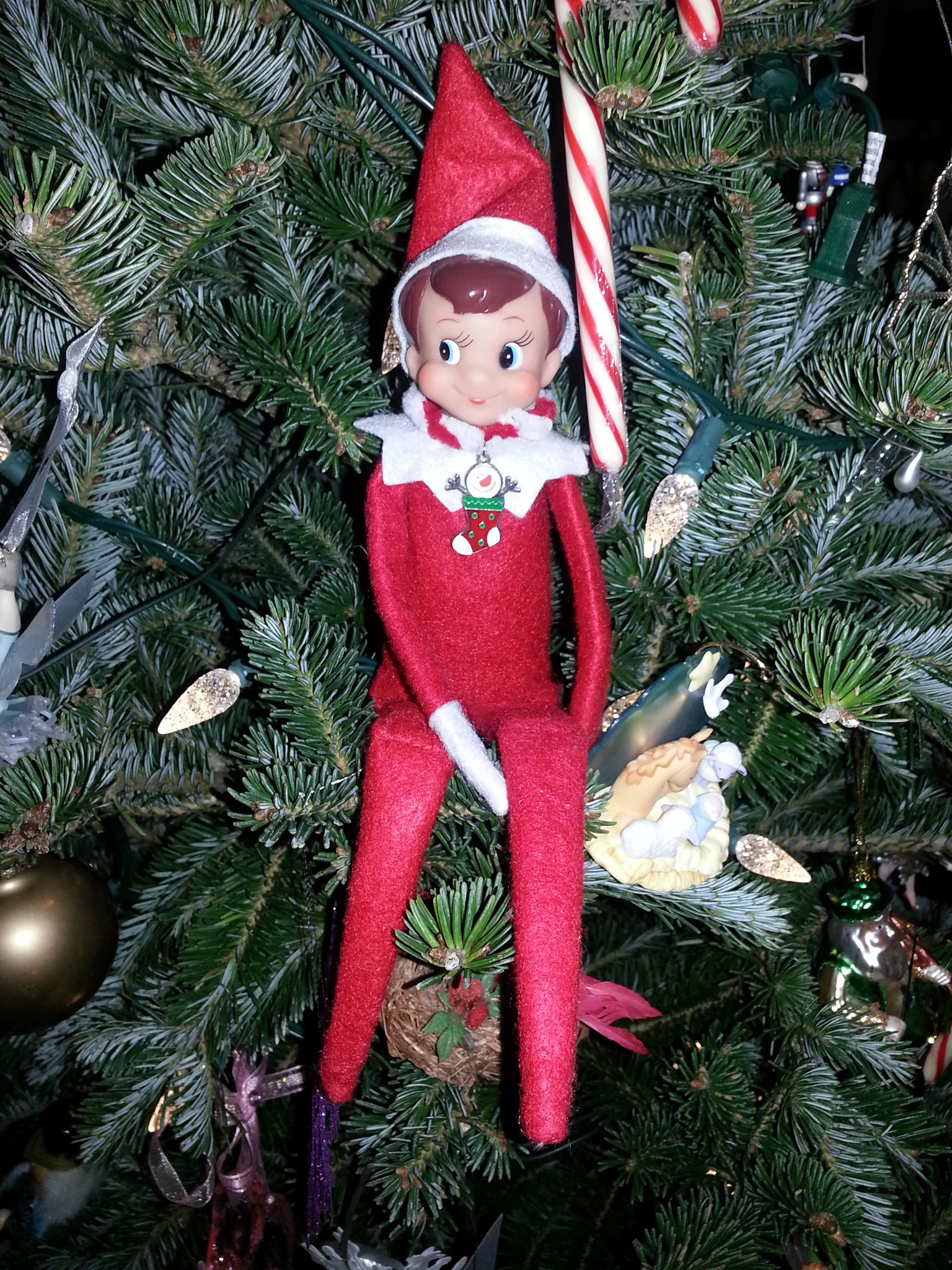 elf on the shelf tree ornaments gallery