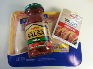 Ingredients For Taco Chicken