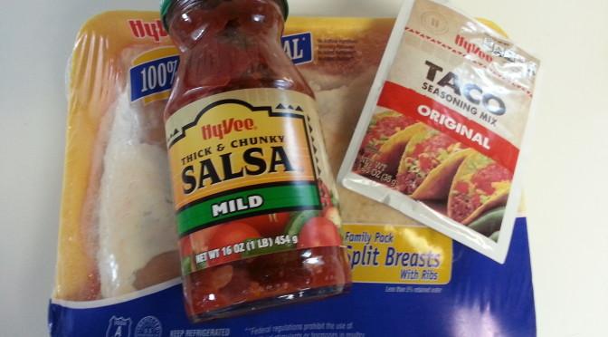 Easy Crock Pot Shredded Taco Chicken