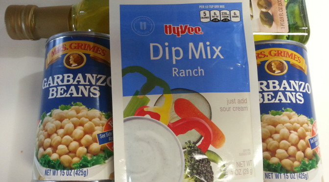 Kitchen Experiment: Roasted Ranch Chickpeas