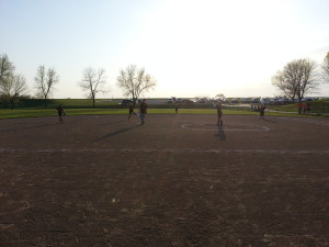 Perfect night for Little League Softball