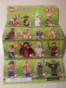 Lego Minifigure Series 13