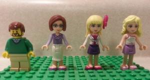 Our Lego Minifigure Family