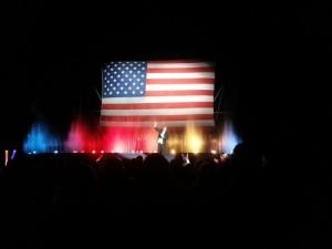 Tommy Bartlett Show Patriotic Ending