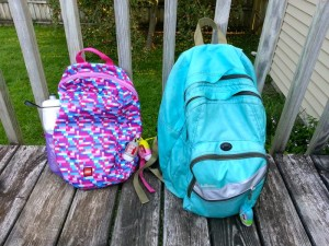 Back-to-school backpacks