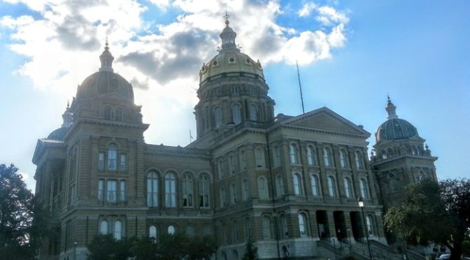 Wordless Wednesday – Iowa State Capitol