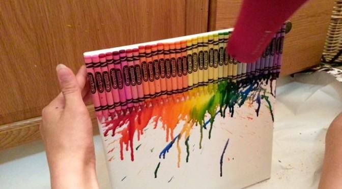Guest Post: Crayola Crayon Wall Art