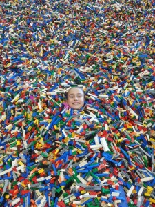 Buried In Legos
