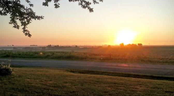 Wordless Wednesday – Iowa Sunrise