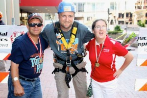 Tony Conrad Over The Edge For Special Olympics