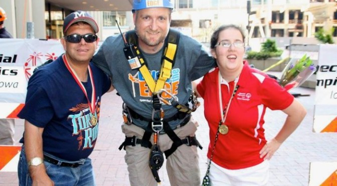 Going Over The Edge For Special Olympics Iowa