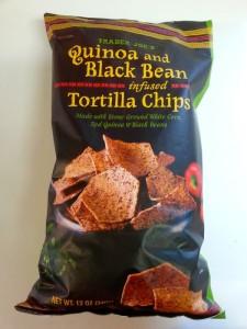 Trader Joe's Quinoa & Black Bean Tortilla Chips