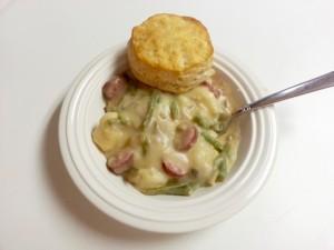 Cheesy Sausage Stew