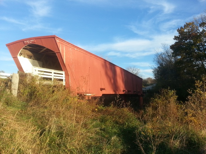 Covered Bridge Of Madison County