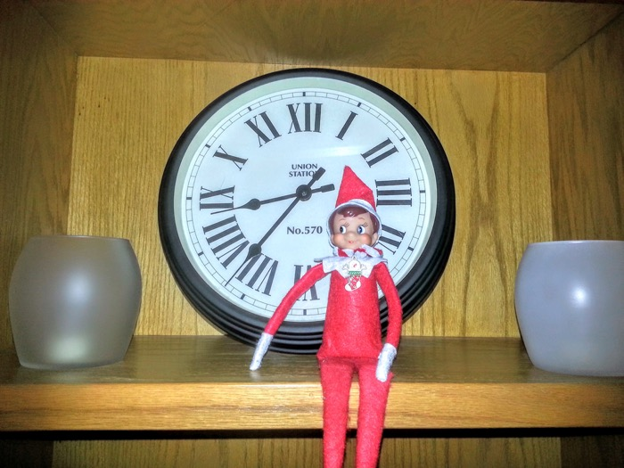 It's almost time for Fred to head to the North Pole.