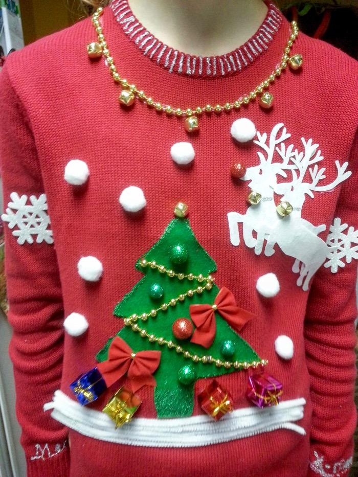 Handmade Ugly Christmas Sweater
