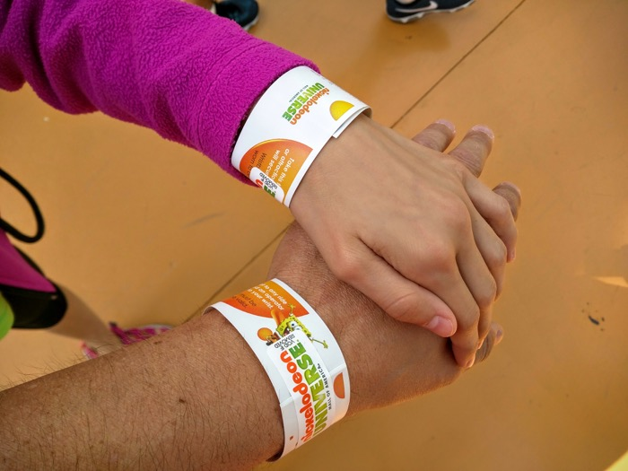 Nickelodeon Universe Wristbands