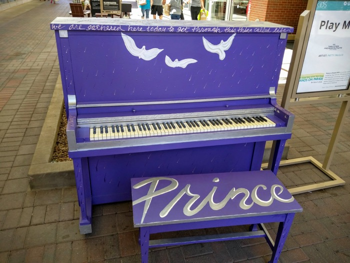 Purple Prince Piano