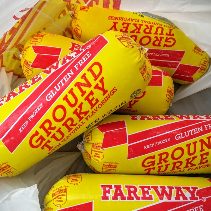 Frozen Ground Turkey From Fareway