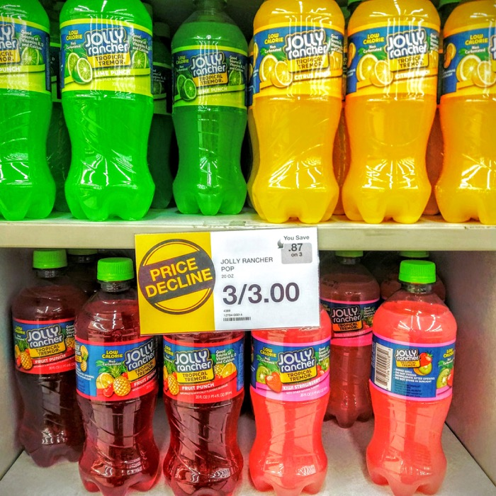 Jolly Rancher Soda On Store Shelves