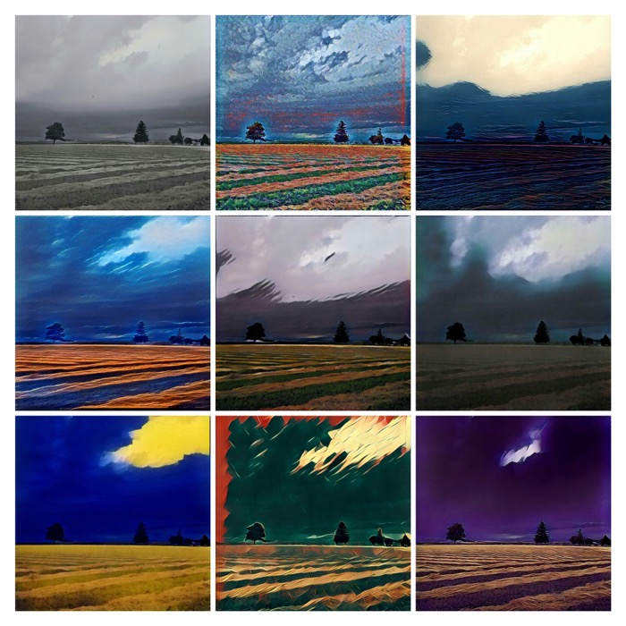 Prisma Landscape Collage 3