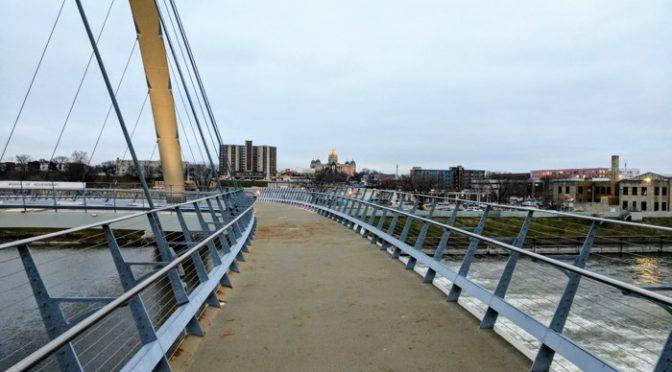 Wordless Wednesday – Des Moines Pedestrian Bridge