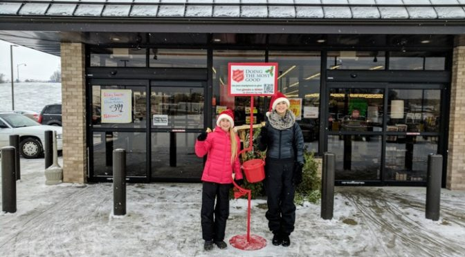 Random Thoughts From 2 Hours Of Salvation Army Bell Ringing