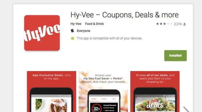 App Review: Hy-Vee Coupons, Deals & More