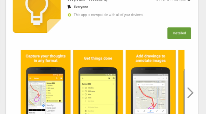 App Review:  Google Keep