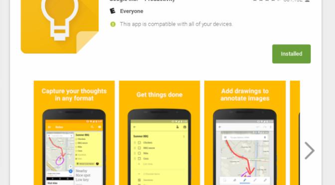 App Review:  Google Keep