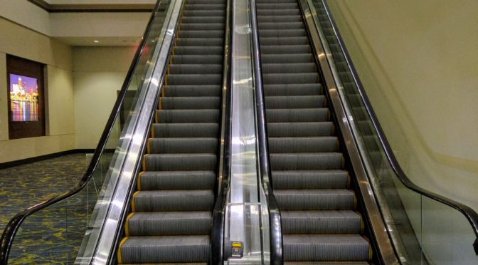 Wordless Wednesday – Escalator