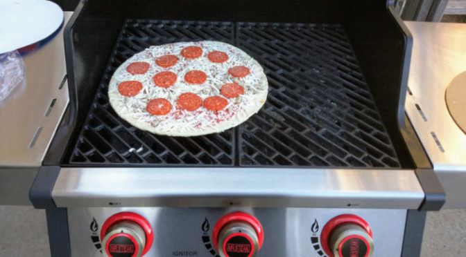 Tony Tries It: Grilled Frozen Pizza