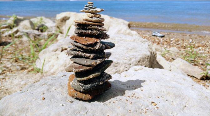 Wordless Wednesday – Little Stack Of Rocks