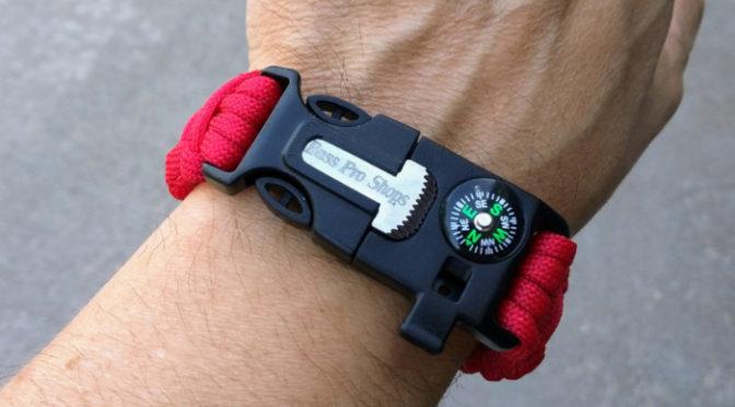 Tony Tries It: Survival Bracelet Fire Starter