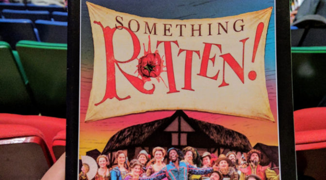 Review: Something Rotten! At Des Moines Performing Arts