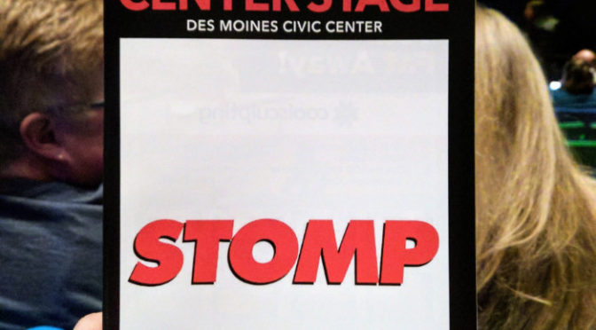 Review: STOMP At Des Moines Performing Arts